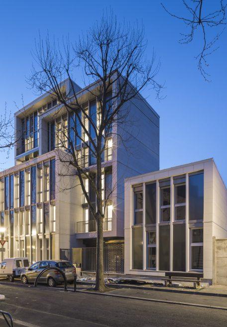 Ch.Tillon Wohngebäude Aubervilliers