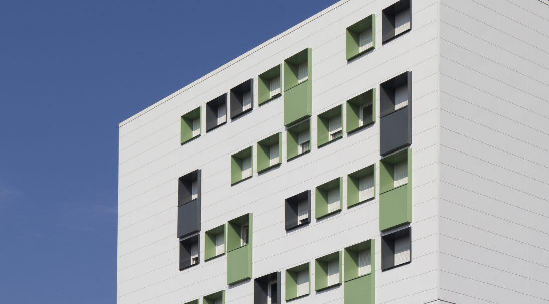 Béthune Wohngebäude