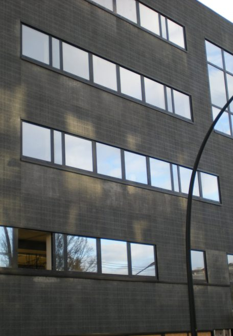 Fassade Kollektives Wohnen, Nantes