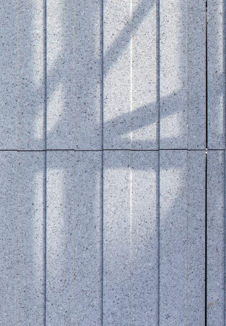 Aspect minéral Carea Cannelé, pour une façade graphique (bardage avec ossature et sans ossature, vêture)