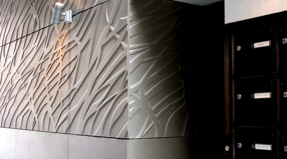 Standort: PARIS (Frankreich),  Architekten: Fl. Bougnoux, J.-M. Fritz, D. Mangin, Seura Architekturenbüro,  Art der Konstruktion: Renovierung,  Verlegesystem: Verkleidung mit Unterkonstruktion (VmU),  Verwendetes Produkt: PFLANZEN