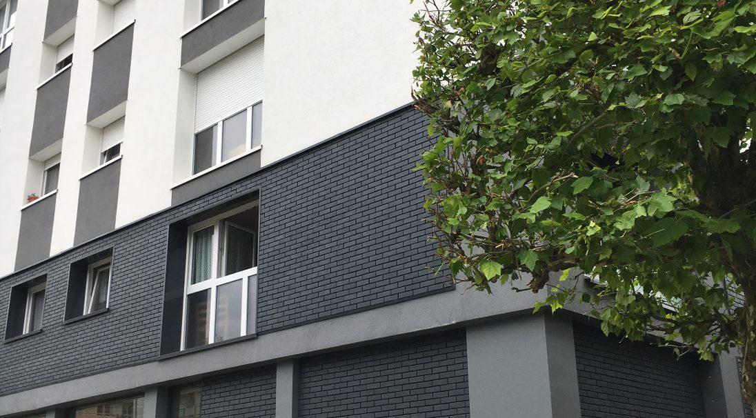 Logement Hauteville 128 à Lisieux (France) - Brique