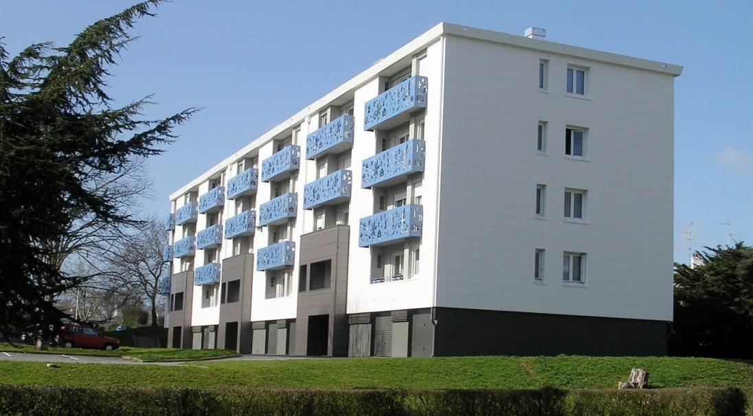 Résidence à Saint-Nazaire - Bardage Sans Ossature Carea
