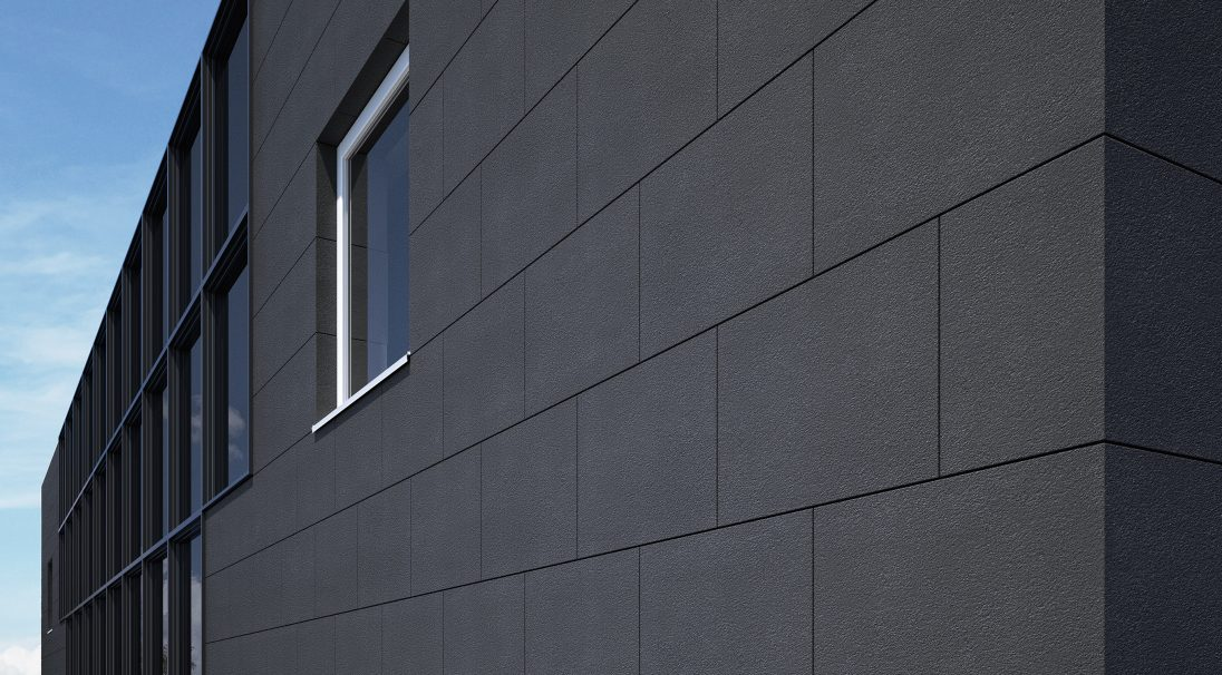 Fassade Verkleidung MAGMA - Mit / ohne Unterkonstruktion. Architekt, Bauherr